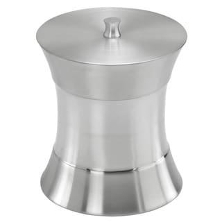 Hourglass 3-quart Stainless Steel Ice Bucket