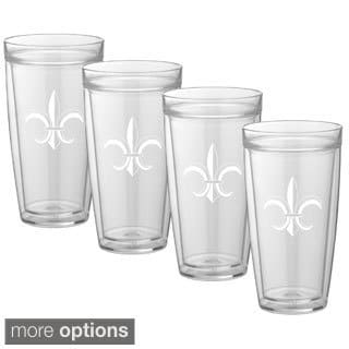 Kasualware Designs 22-ounce Doublewall Drinkware (Set of 4)