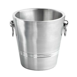 Double-wall Brushed Champagne Bucket