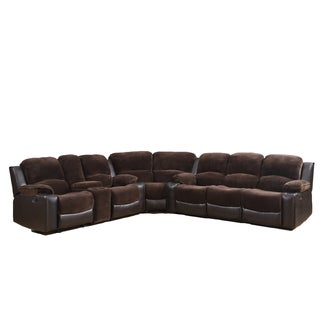 Champion Chocolate Brown 3-piece Sectional