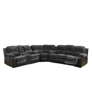 Champion Thunder/ Black 3-piece Sectional