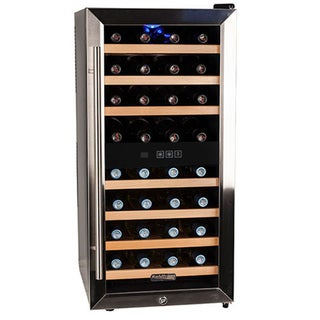 Koldfront 32-Bottle Single Zone Thermoelectric Wine Cooler