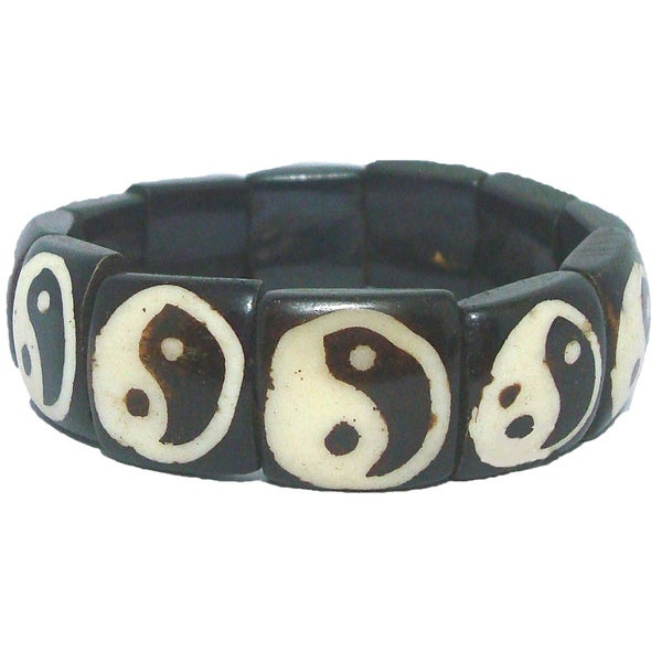 Tiara Global Iconic Yin Yang Beaded Bracelet