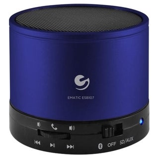Ematic ESB107 Speaker System - Portable - Battery Rechargeable - Wire