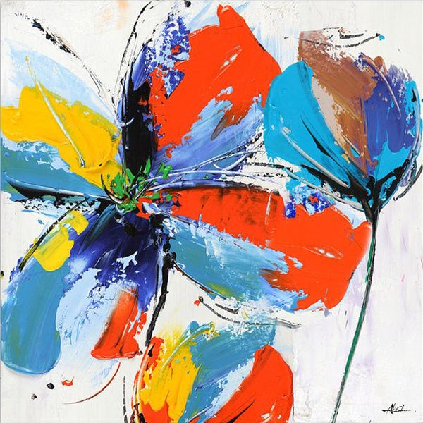 Floral Energy Original Hand painted Wall Art