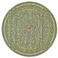 Feizy Wilshire Sage Geometric Rug (5'1 Round)