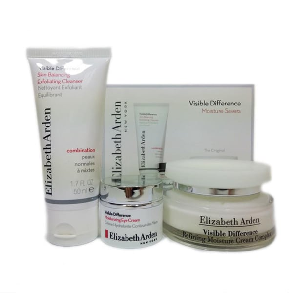 Elizabeth Arden Visible Difference Moisture Savers 3-piece Set