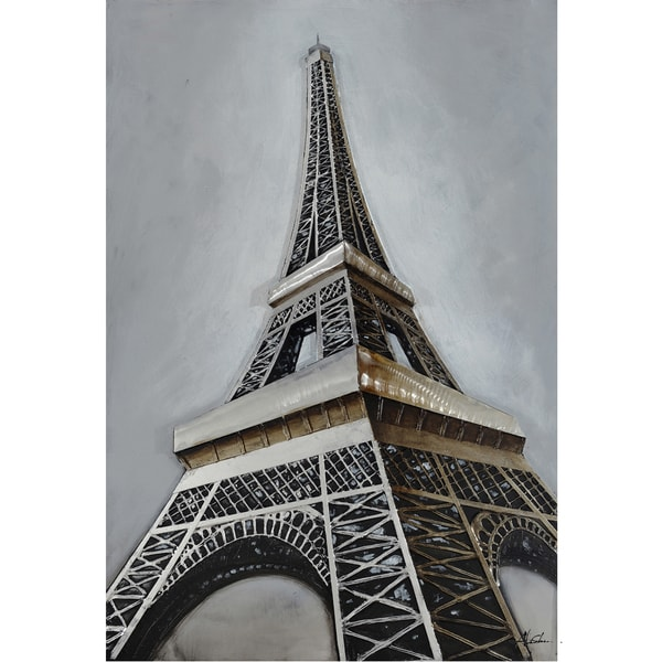 Eiffel Revealed Original Hand painted Wall Art