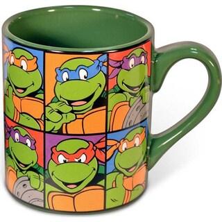 Teenage Mutant Ninja Turtles Faces Coffee Mug
