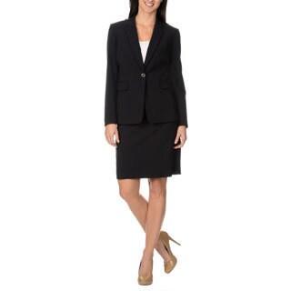Tahari Arthur S. Levine Luxe Women's 2-piece Pinstripe Skirt Suit