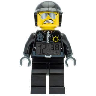 LEGO Movie Bad Cop Kid's Moveable Minifigure Alarm Clock