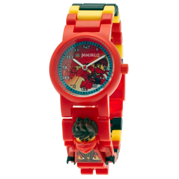 LEGO NINJAGO Kai Kid's 'Rebooted' Interchangeable Links Minifigure Watch