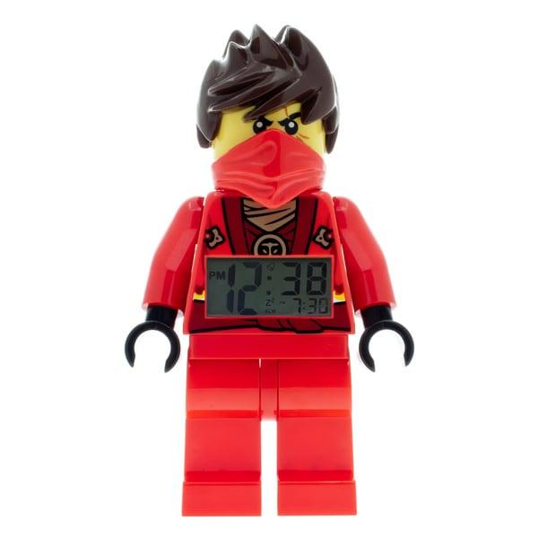 LEGO NINJAGO Kai Kid's Moveable Minifigure Alarm Clock