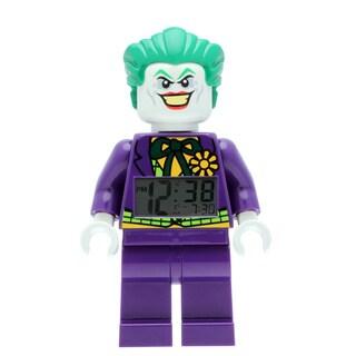 LEGO Super Heroes Joker Kid's Moveable Minifigure Alarm Clock