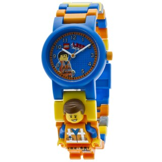 LEGO Movie Emmet Kid's Minifigure Interchangeable Links Watch