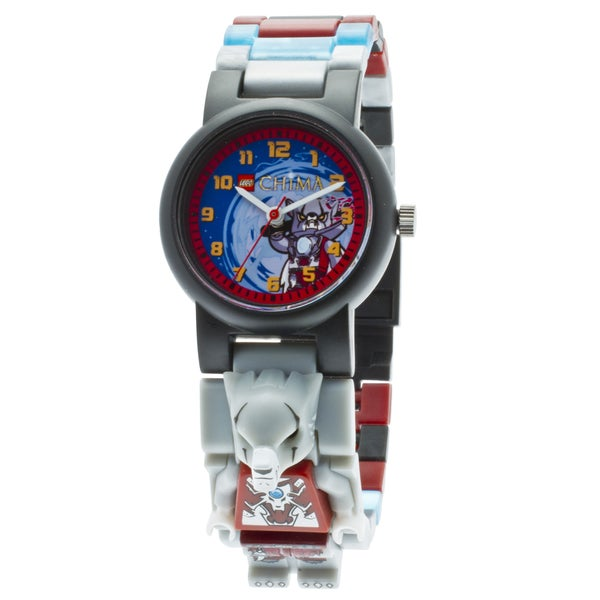 LEGO Legends of Chima Worriz Kid's Minifigure Interchangeable Links Watch
