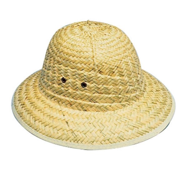 Adult Tan Pith Safari Hat