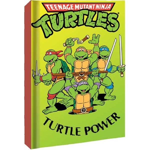 Turtle Power Teenage Mutant Ninja Turtles Hard Cover Notebook