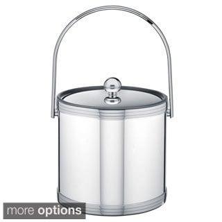 Mylar II Metallic 3-quart Ice Bucket with Metal Lid