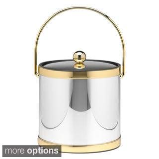 Mylar Metallic 3-quart Ice Bucket with Metal Lid