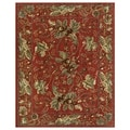Feizy Wilshire Red Oriental Area Rug (5'3 x 7'9)