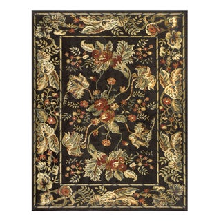 Feizy Wilshire Charcoal Oriental Area Rug (5'3 x 7'9)