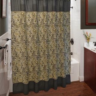 Sherry Kline Findlay Shower Curtain and Hook Set