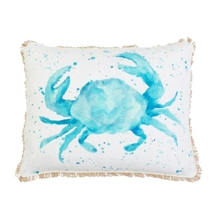 Carmello Crab Throw Pillow