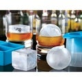 Sharper Image Ice Cube and Sphere Mold Set