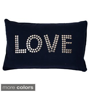 Cindy Love Studded Throw Pillow