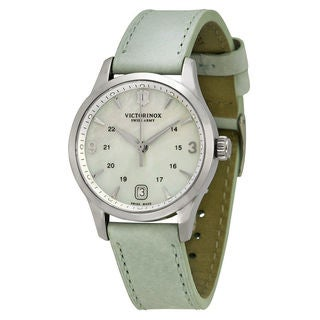 Victorinox Swiss Army Women's 241661 'Alliance' White Leather Watch