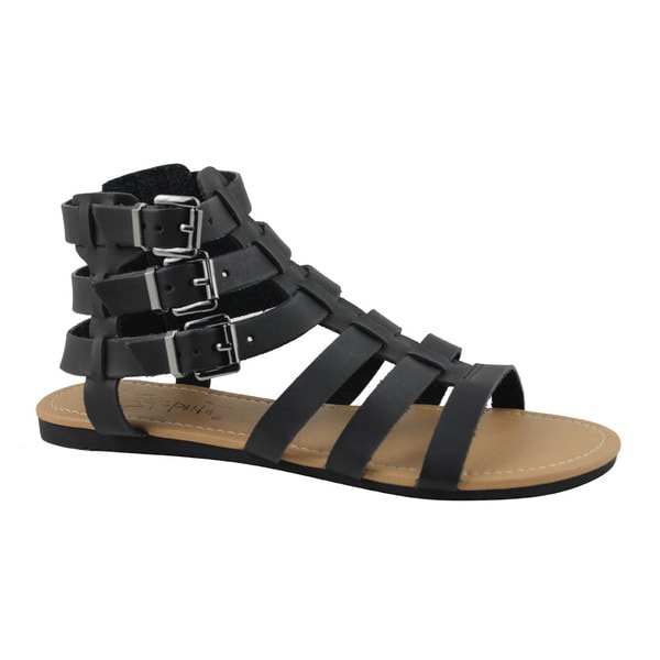 Celebrity NYC Women's Olive Roman Sandal