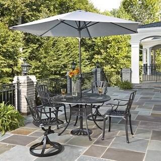 Largo 5-piece Dining Set with Umbrella