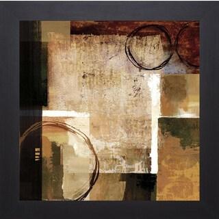 Keith Mallett 'Broadway Rhythm' Framed Art Print