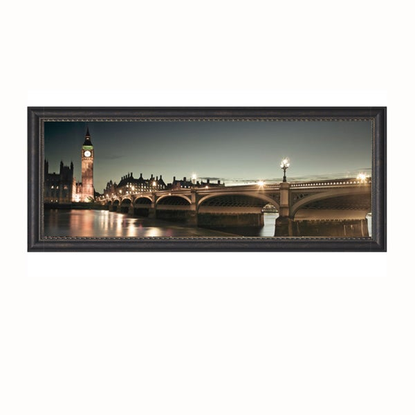 Assaf Frank 'London Lights' Framed Art Print