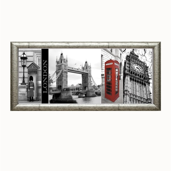 Watt Boyce./J. Maihara 'A Glimpse Of London' Framed Art Print