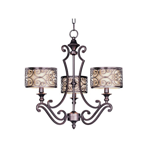 Mondrian 3-light Chandelier