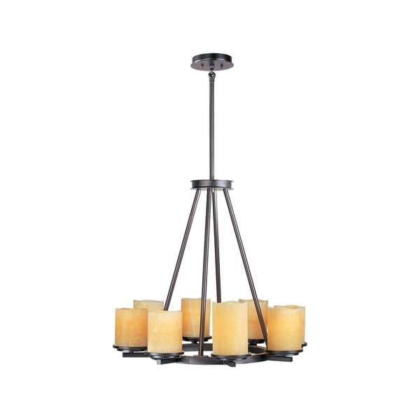 Luminous 8-light Chandelier
