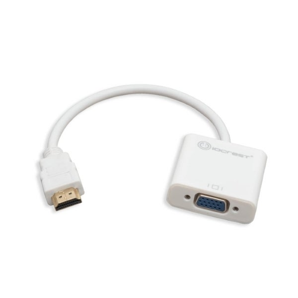 IOCrest HDMI to VGA Adapter with Audio Output via 3.5mm Jack