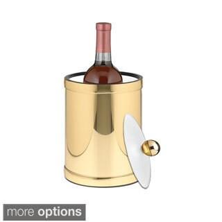 Mylar Metallic 2-quart Ice Bucket/ Bottle Cooler with Lucite Lid