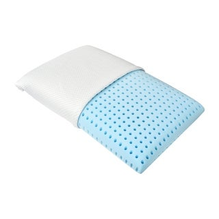 Blu Sleep Aquafoam High Density Queen Size Memory Foam Pillow