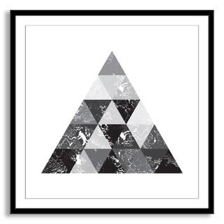 Kovalto1's 'Triangle Tiles' Framed Paper Art