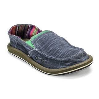 Muk Luks Men's Cole Navy Boat Shoes