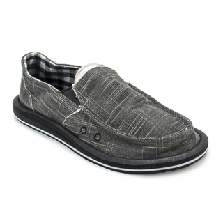 Muk Luks Men's Cole Black Boat Shoes