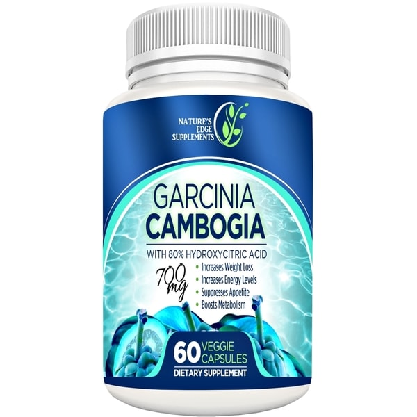 Garcinia Cambogia Weight Loss Supplement (60 capsules)