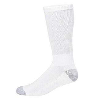 Champion Double Dry Performance Men's Crew Socks Extended Sizes (Pack of 6)