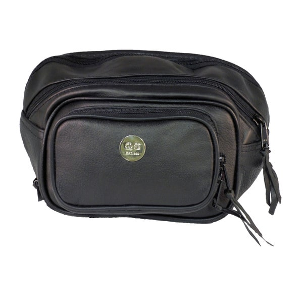 Small Leather Concealment Waist Pack