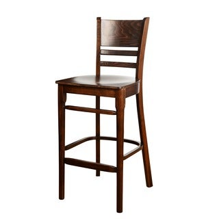 42-inch Solid Beech Wood Cafe Barstool