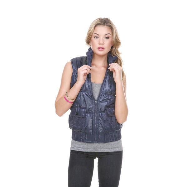 Stanzino Women's Sleeveless Puffer Vest