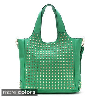 Belle Brillance Studded Tote